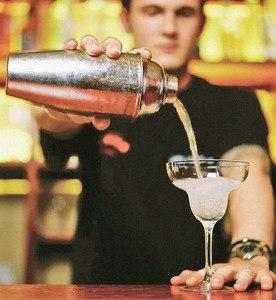 Пример резюме бармена
