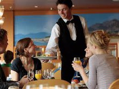 Образец резюме на должность официанта